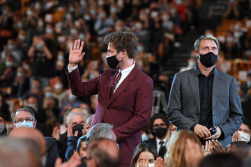Mads Mikkelsen 12th Film Festival Lumiere : Opening Ceremony In Lyon