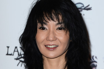 Maggie Cheung Arrivals at the Lancome Party in Paris