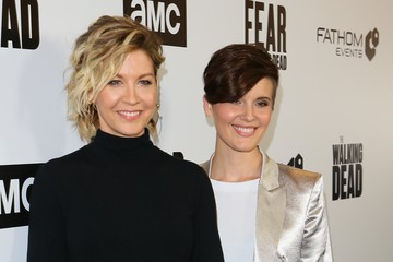 Maggie Grace Fathom Events And AMC's 'Survival Sunday: The Walking Dead And Fear The Walking Dead' - Arrivals