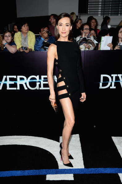 "Maggie Q - Premiere Of Summit Entertainment's ""Divergent"" - Arrivals"