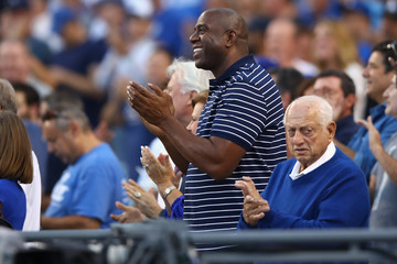 Magic Johnson League Championship Series - Chicago Cubs v Los Angeles Dodgers - Game One
