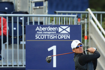 Magnus A Carlsson AAM Scottish Open - Day Two