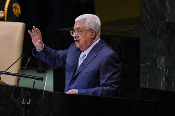 Mahmoud Abbas World Leaders Address The United Nations General Assembly