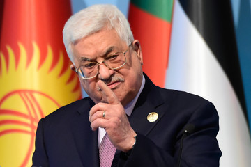 Mahmoud Abbas Turkey Hosts a Meeting of Muslim Countries to Discuss the United States' Recognition of Jerusalem as the Capital of Israel