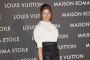 Alessia Piovan attends the 'Maison Louis Vuitton Roma Etoile' Opening Party on January 27, 2012 in Rome, Italy.