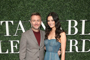 Lydia Hearst and Chris Hardwick Photos Photo