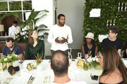 Hassan Pierre speaks at Maison-de-Mode.com x Paul Kasmin Gallery Luncheon at Penthouse at the Faena Hotel Miami Beach on December 1, 2015 in Miami Beach, Florida.