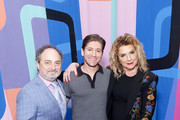 Kevin Pollak, Michael Zegen, and Caroline Aaron attend the Making Maisel Marvelous featuring Amazon Prime Original The Marvelous Mrs. Maisel at The Paley Center for Media on August 10, 2019 in New York City.