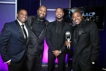 Malcolm D. Lee James Lopez 49th NAACP Image Awards - Backstage