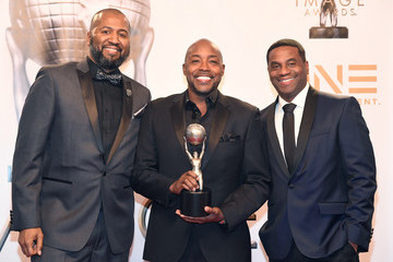 Malcolm D. Lee James Lopez 49th NAACP Image Awards - Press Room