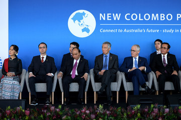 Malcolm Turnbull Lee Hsien Loong ASEAN-Australia Special Summit 2018