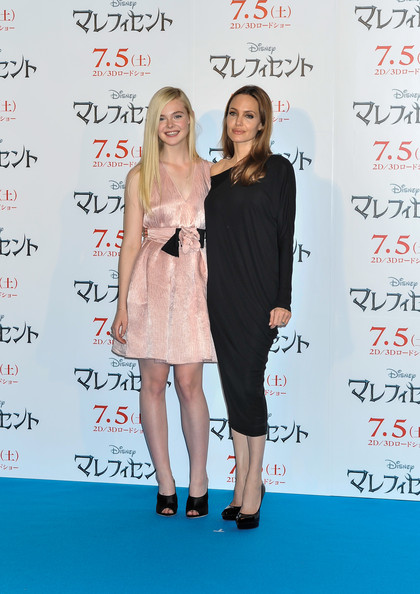 Angelina Jolie In Maleficent Press Conference In Tokyo