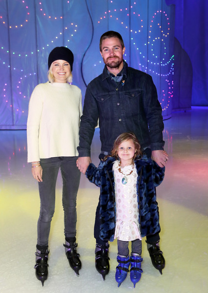 Disney On Ice Presents 'Dare To Dream' Celebrity Skating Party [people,fashion,human,footwear,fun,event,child,recreation,family,fashion design,sebastian zincone,roberto zincone,malin akerman,los angeles,california,staples center,disney on ice,dare to dream celebrity skating party,disney on ice presents dare to dream celebrity skating party]