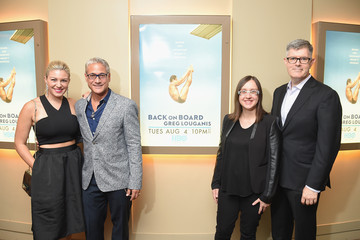 Mallory Hagan Guests Attend the 'Back On Board: Greg Louganis' New York Premiere