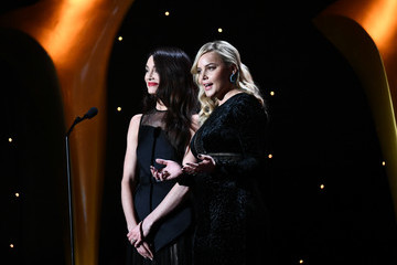 Mallory Jansen 7th AACTA International Awards - Inside