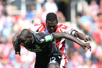 Mame Biram Diouf Stoke City vs. Crystal Palace - Premier League