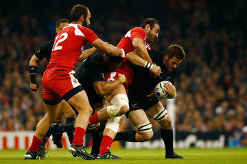 Mamuka Gorgodze New Zealand v Georgia - Group C: Rugby World Cup 2015