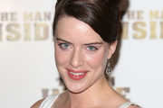 Michelle Ryan attends the premiere of 'The Man Inside' at Vue Leicester Square on July 24, 2012 in London, England.