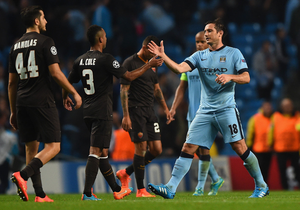 UEFA Champions League - Manchester City vs AS Roma
