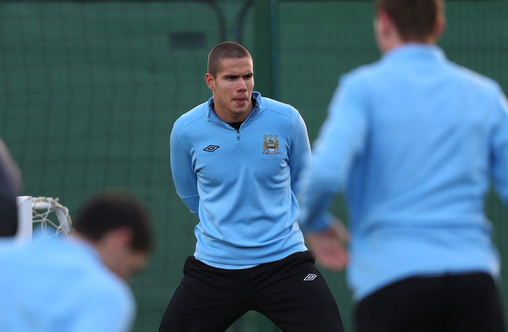 jack rodwell in manchester city training zimbio. Black Bedroom Furniture Sets. Home Design Ideas