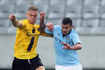 Marcel Franke Manchester City v Dynamo Dresden - Preseason Friendly
