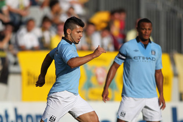 Vincent Company Manchester City v Dynamo Dresden - Preseason Friendly
