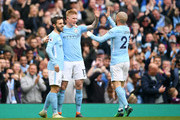 David Silva and Kevin De Bruyne Photos Photo