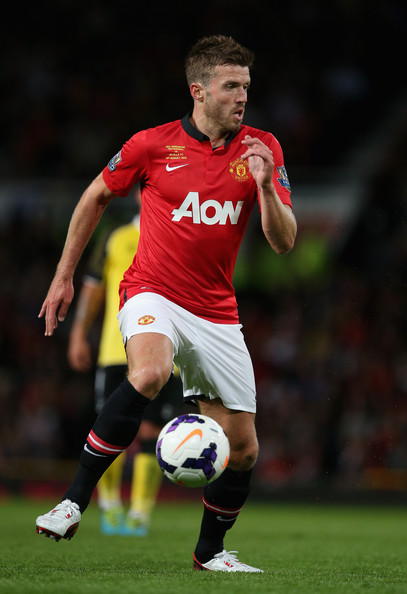 Michael Carrick in Manchester United v Sevilla - Zimbio