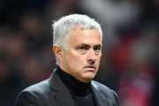 Jose Mourinho, Manager of Manchester United applauds fans after the Group H match of the UEFA Champions League between Manchester United and Juventus at Old Trafford on October 23, 2018 in Manchester, United Kingdom.