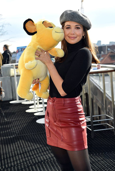 Disney In Concert 'Dreams Come True' Photo Call In Munich [dreams come true,yellow,clothing,lady,beauty,fashion,snapshot,street fashion,footwear,costume,dress,mandy capristo,photo call,munich,bayerischer hof,germany,disney in concert]