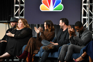 Mandy Moore Sterling K. Brown 2020 Winter TCA Tour - Day 5