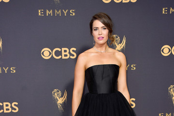 Mandy Moore 69th Annual Primetime Emmy Awards - Arrivals