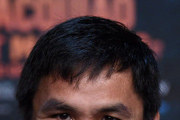 Manny Pacquiao Floyd Mayweather Jr. v Manny Pacquiao - News Conference