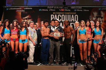 Manny Pacquiao Manny Pacquiao v Timothy Bradley Jr. - Weigh-in