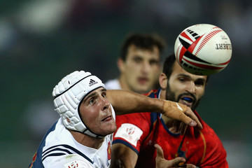 Manoel Dall Igna Emirates Dubai Rugby Sevens: HSBC Sevens World Series - Day Two