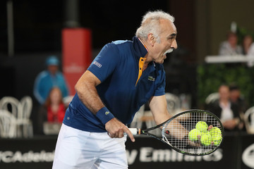 Mansour Bahrami 2018 World Tennis Challenge - Day 2