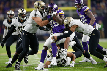 Manti Teo Divisional Round - New Orleans Saints v Minnesota Vikings