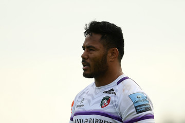 Manu Tuilagi Exeter Chiefs vs. Leicester Tigers - Gallagher Premiership Rugby