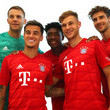 Manuel Neuer FC Bayern Muenchen And Paulaner Photo Session