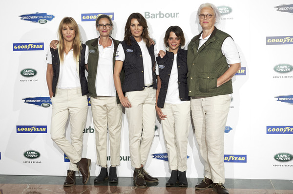 'Land Rover Discovery Challenge' Presentation In Madrid