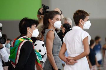 María Chivit Queen Letizia Attends The Opening of The School Course 20-21