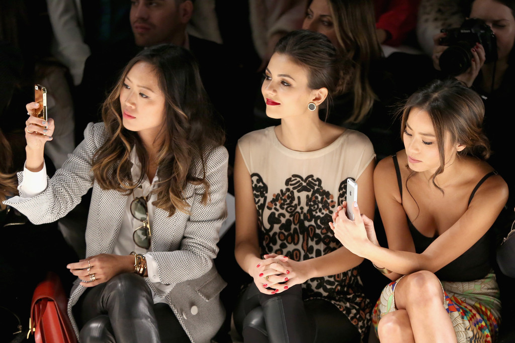 Aimee Song Front Row Fashion Show