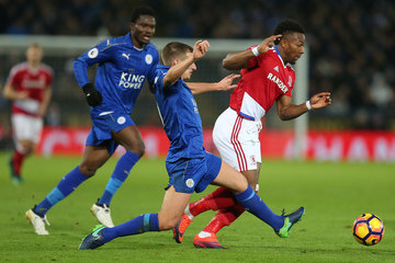 Marc Albrighton Leicester City v Middlesbrough - Premier League