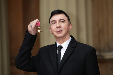 Marc Almond Investitures At Buckingham Palace