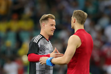 Marc-Andre Ter Stegen Germany vs. Sweden: Group F - 2018 FIFA World Cup Russia