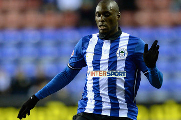Marc-Antoine Fortune Wigan Athletic v Cardiff City - Sky Bet Championship