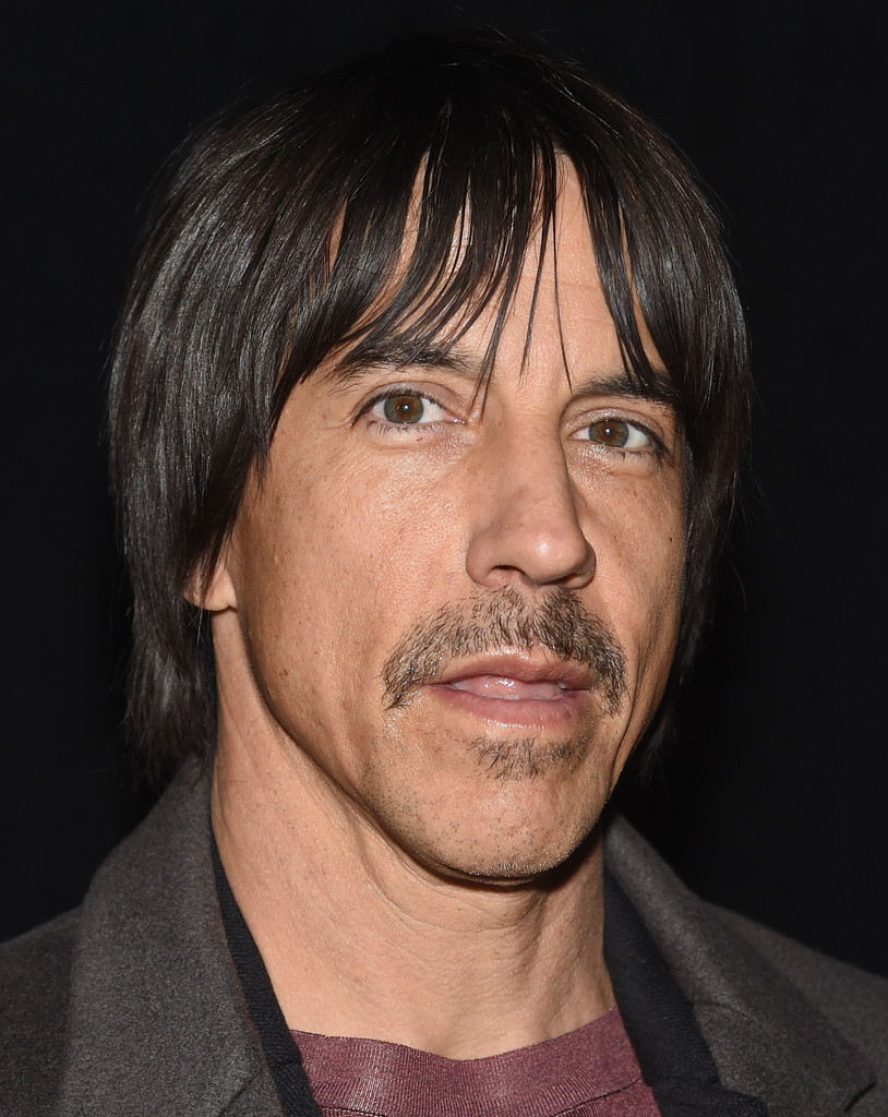 Anthony Kiedis Photos Photos - Backstage at Marc Jacobs ...