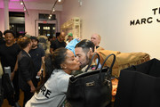 (L-R) June Ambrose and Marc Jacobs attend THE Marc Jacobs SoHo Block Party at The Marc Jacobs SoHo Store on June 12, 2019 in New York City.