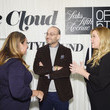 Marc Metrick Amy Schumer & Leesa Evans Host Le Cloud Launch Event With Saks OFF 5TH
