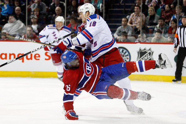 New York Rangers vs Montreal Canadiens